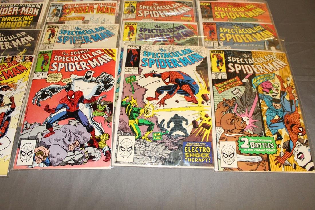 31 comics Peter Parker Spectacular Spiderman - 3