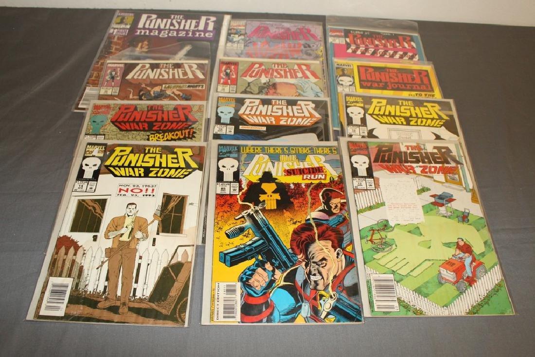 Punisher Magazine #1, Punisher Comics
