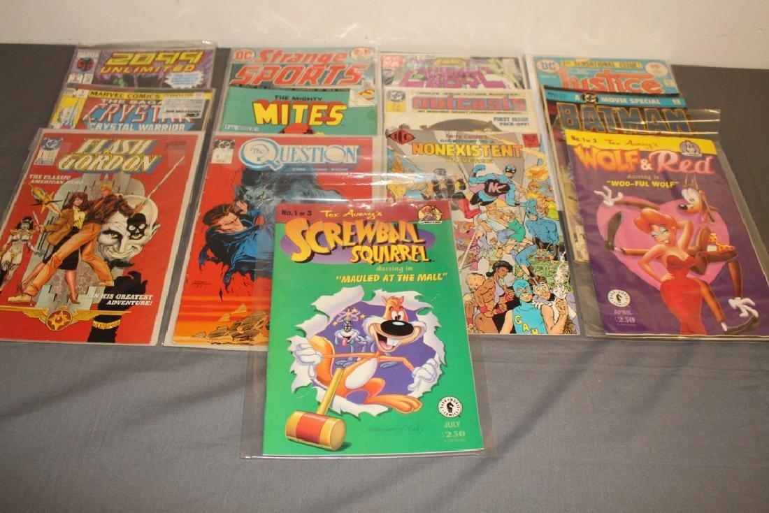 13 comics all #1 issues,