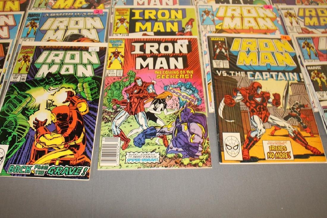 Iron Man #204-314 intermitent, 55 comics - 10