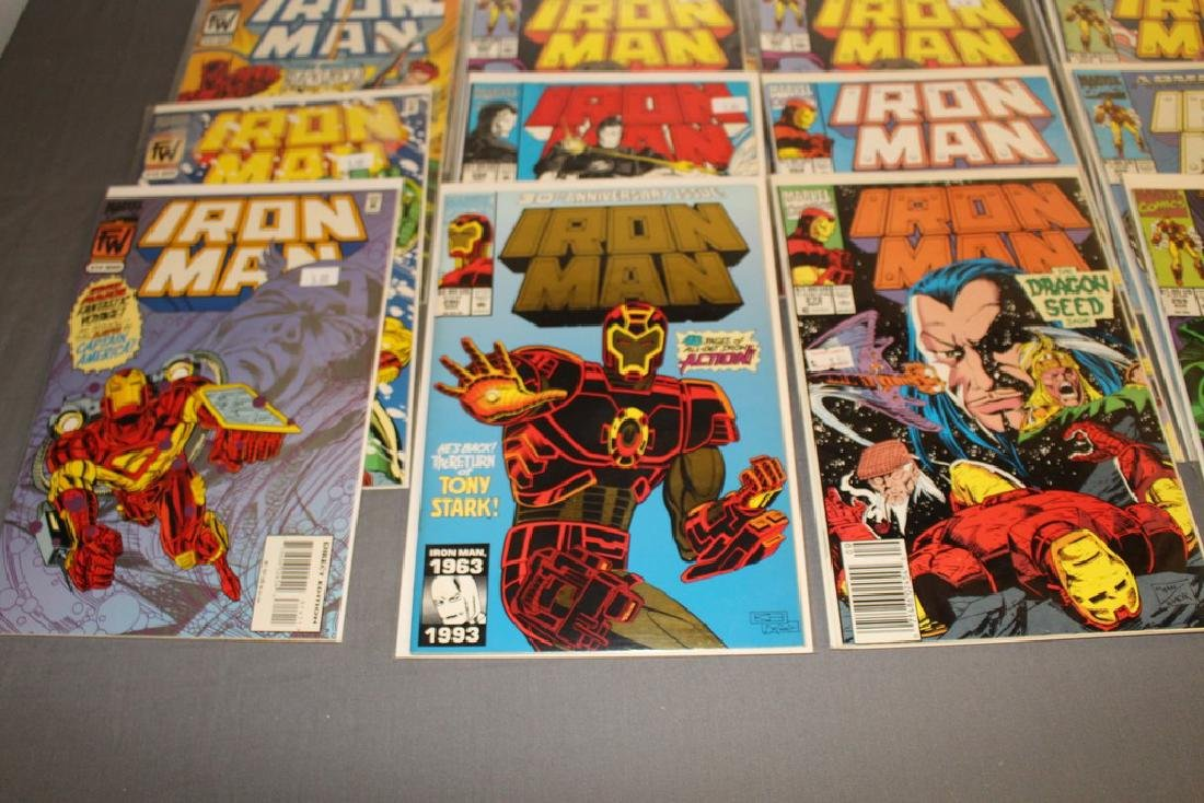 Iron Man #204-314 intermitent, 55 comics - 11