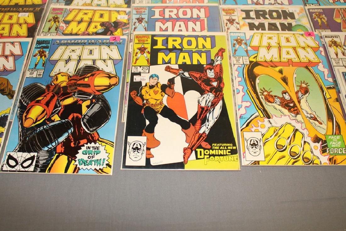 Iron Man #204-314 intermitent, 55 comics - 12