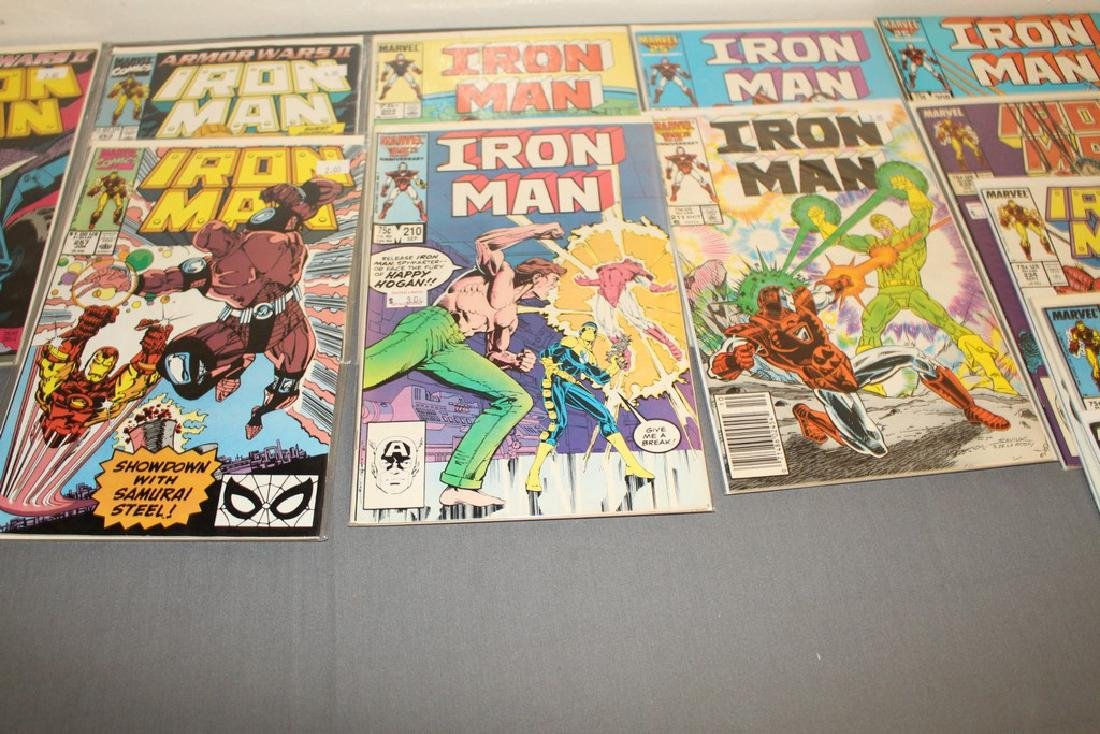 Iron Man #204-314 intermitent, 55 comics - 15