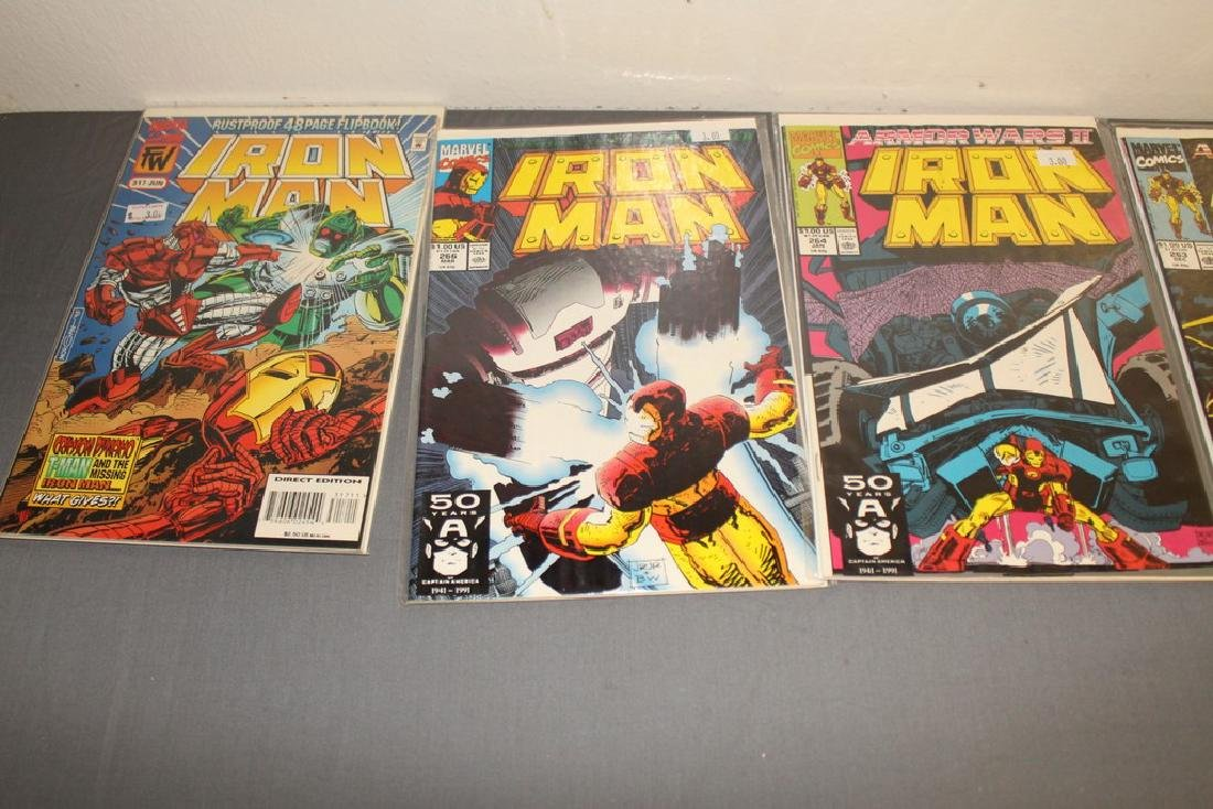 Iron Man #204-314 intermitent, 55 comics - 16