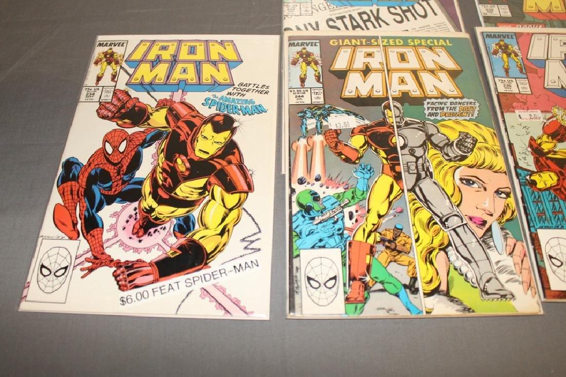 Iron Man #204-314 intermitent, 55 comics - 18