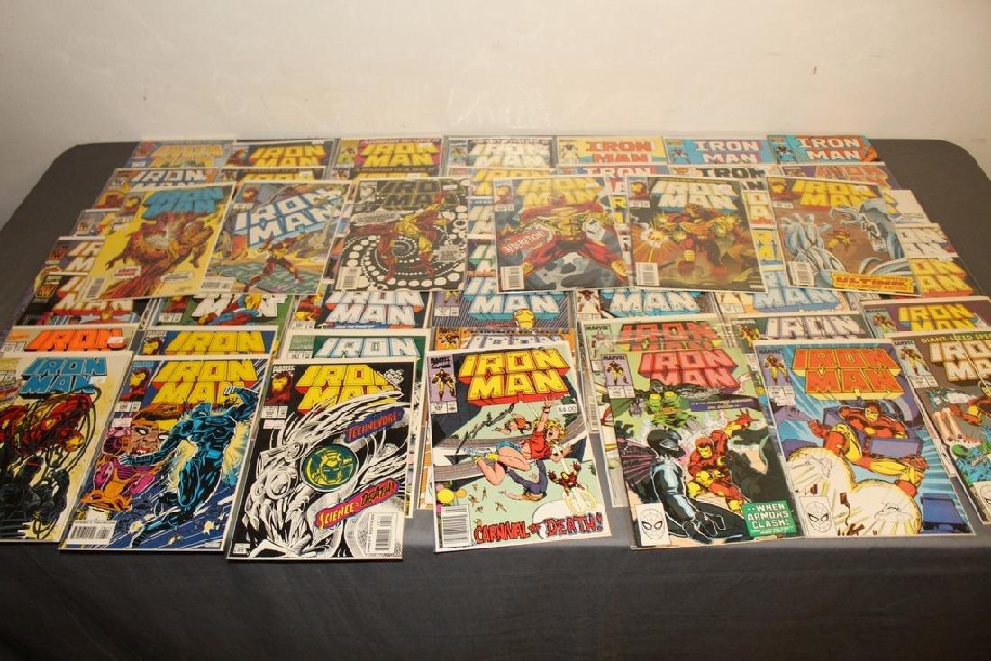 Iron Man #204-314 intermitent, 55 comics