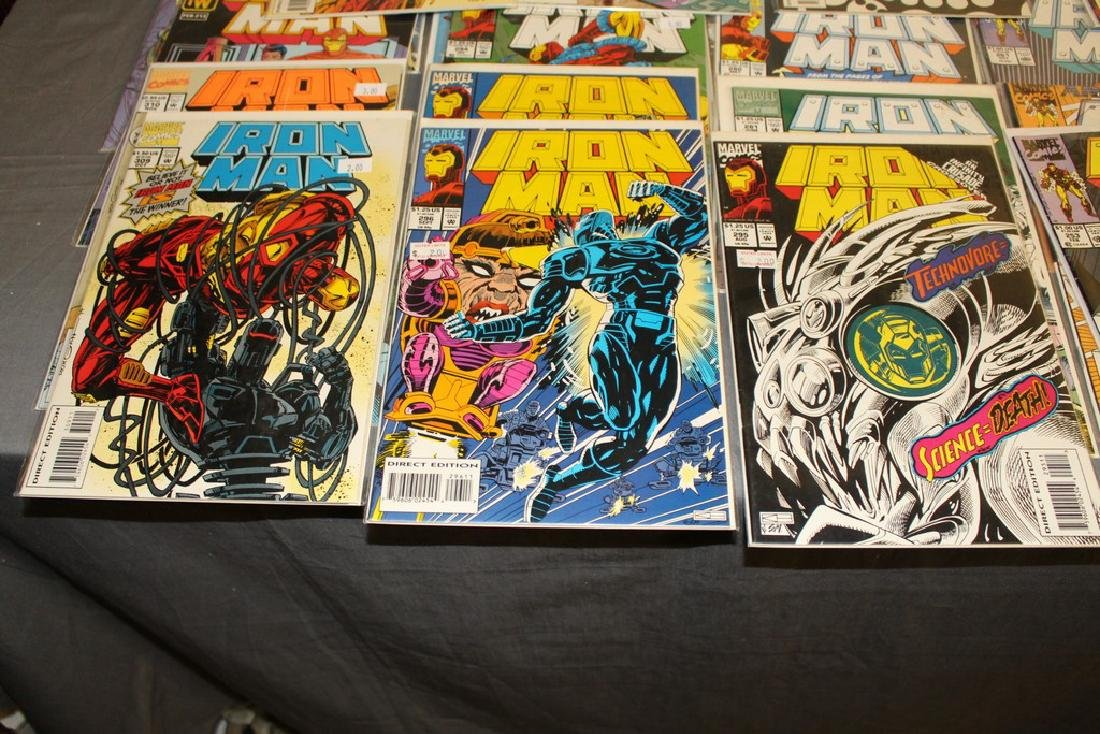 Iron Man #204-314 intermitent, 55 comics - 2