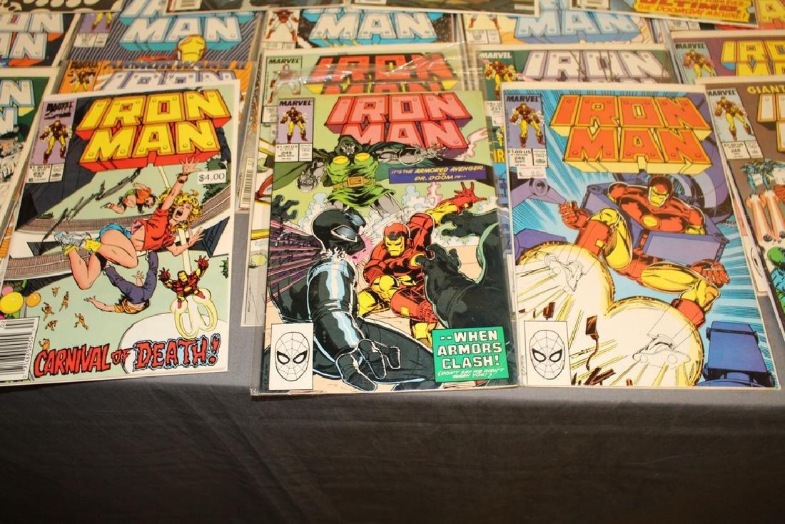 Iron Man #204-314 intermitent, 55 comics - 3