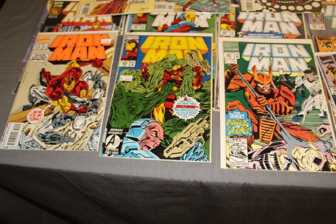 Iron Man #204-314 intermitent, 55 comics - 4
