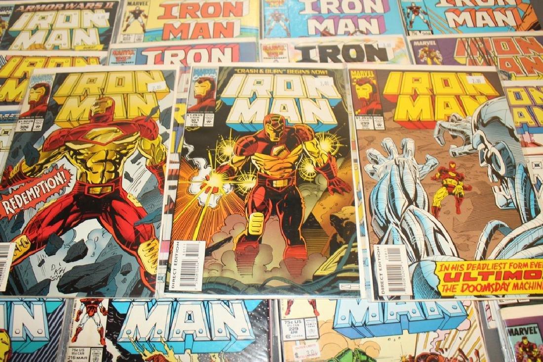 Iron Man #204-314 intermitent, 55 comics - 6