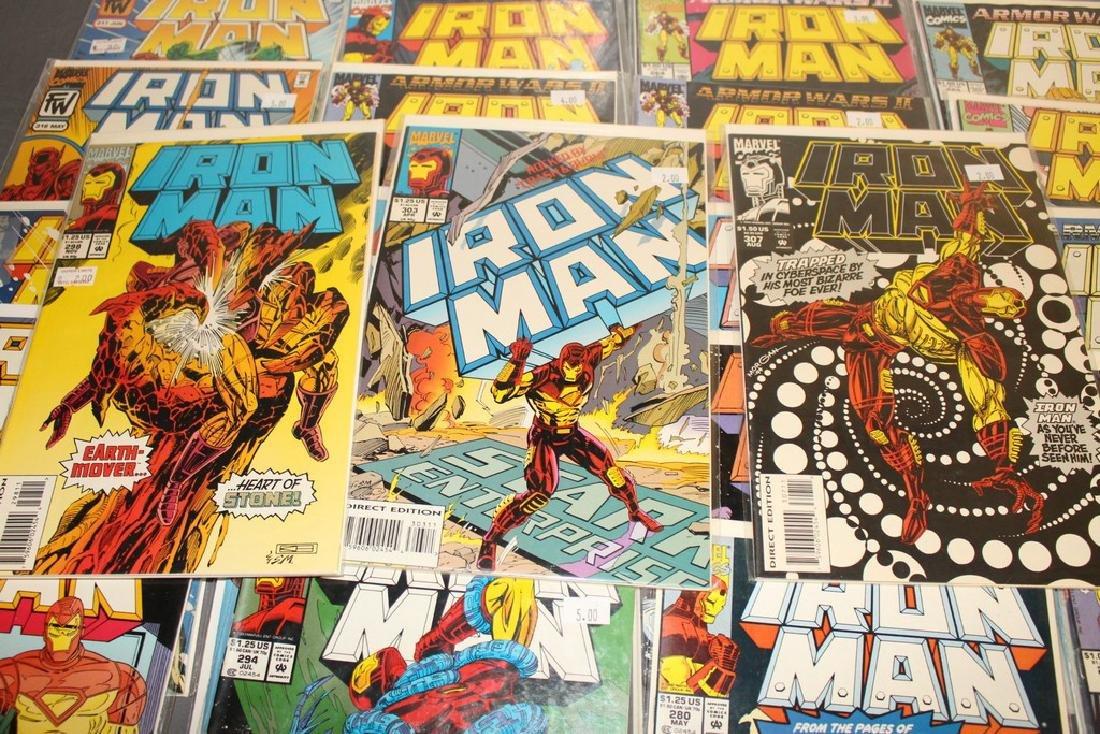 Iron Man #204-314 intermitent, 55 comics - 7