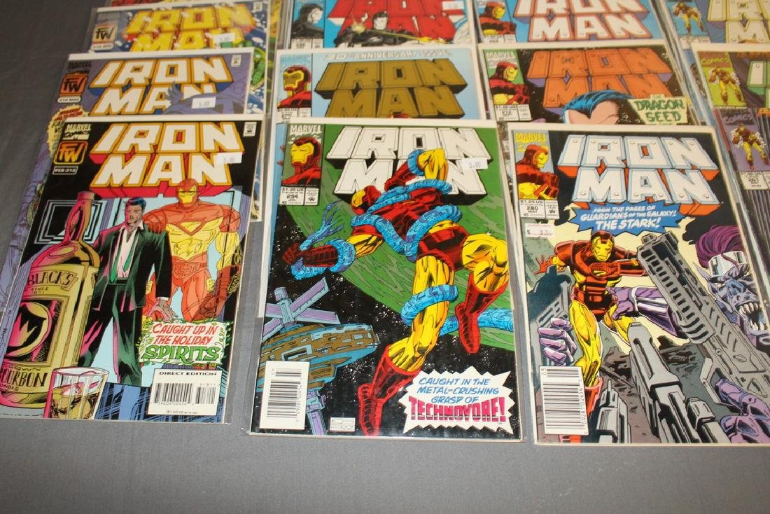 Iron Man #204-314 intermitent, 55 comics - 8