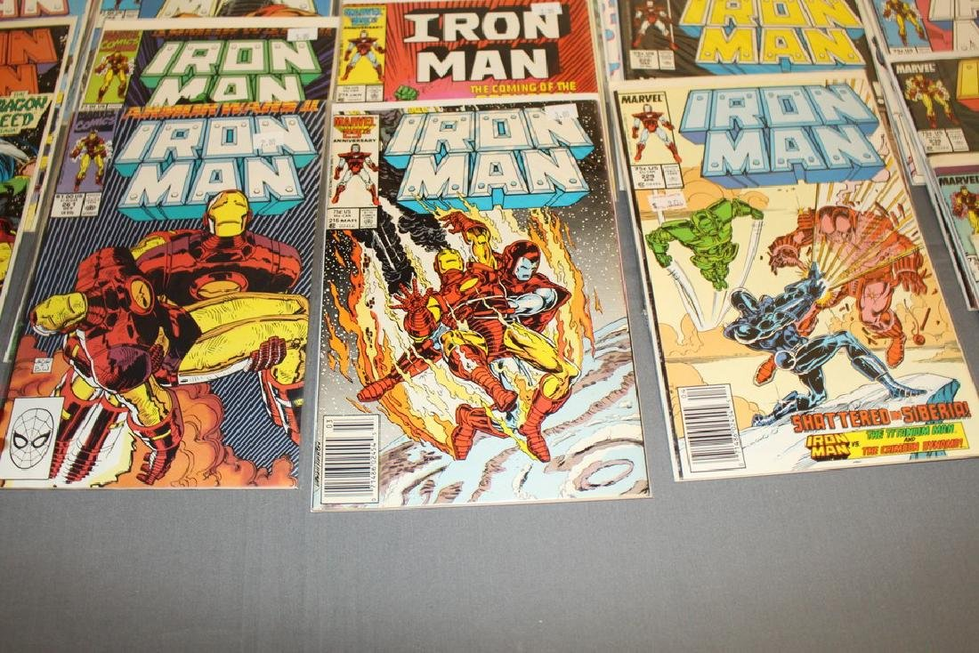 Iron Man #204-314 intermitent, 55 comics - 9