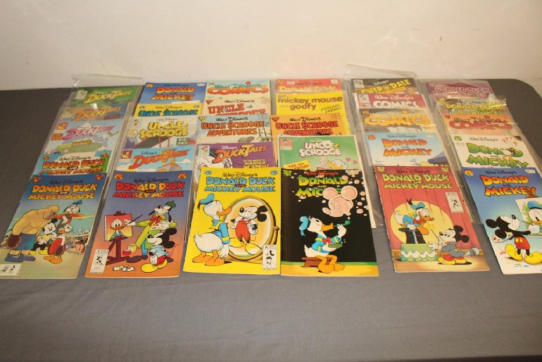 30 comics, all Disney Uncle Scrooge, Donald, Mickey,