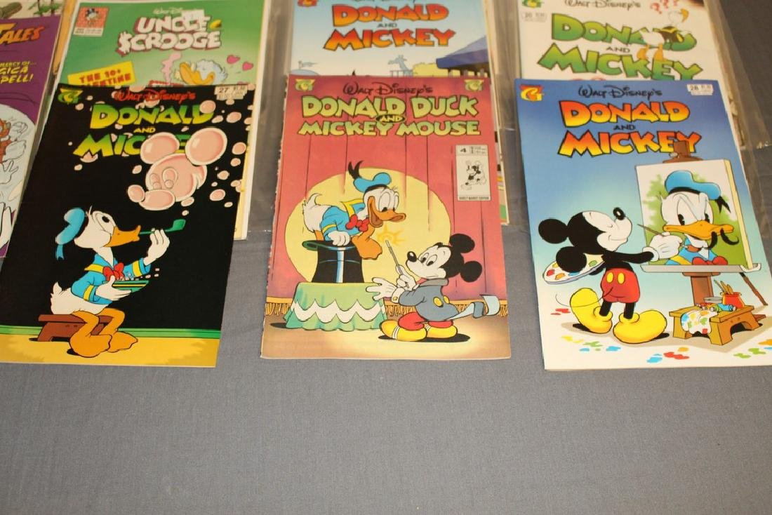30 comics, all Disney Uncle Scrooge, Donald, Mickey, - 3