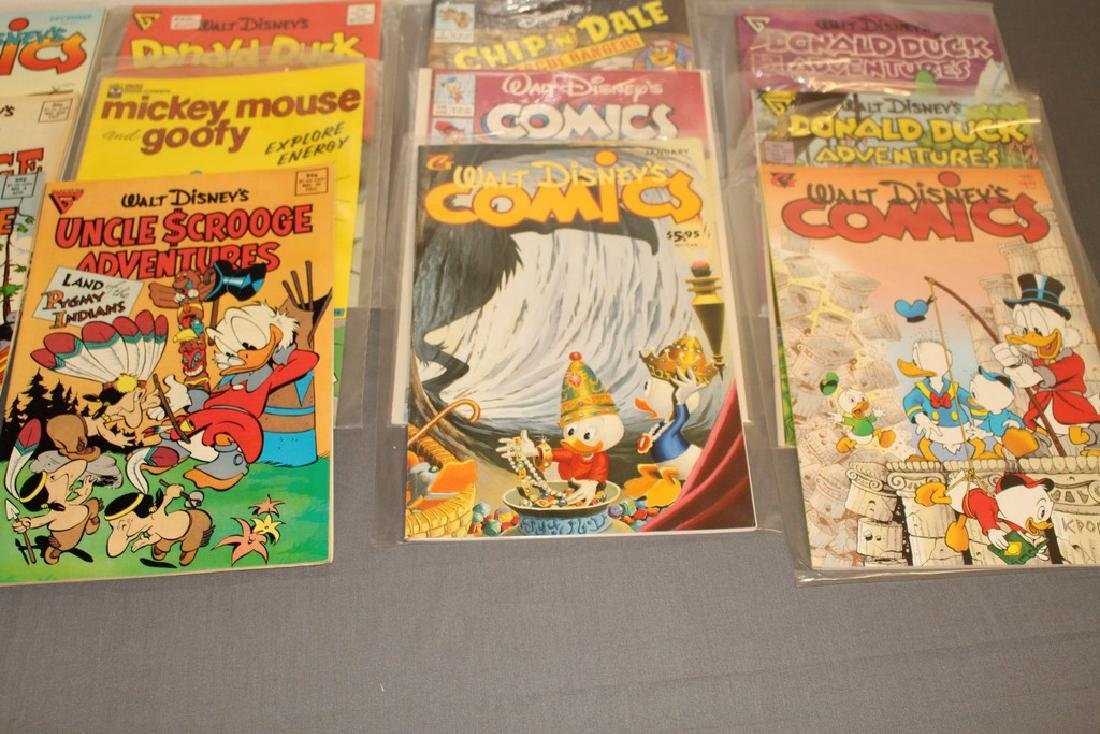 30 comics, all Disney Uncle Scrooge, Donald, Mickey, - 6