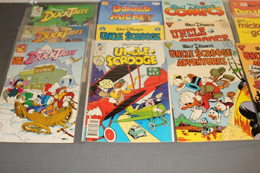 30 comics, all Disney Uncle Scrooge, Donald, Mickey, - 7