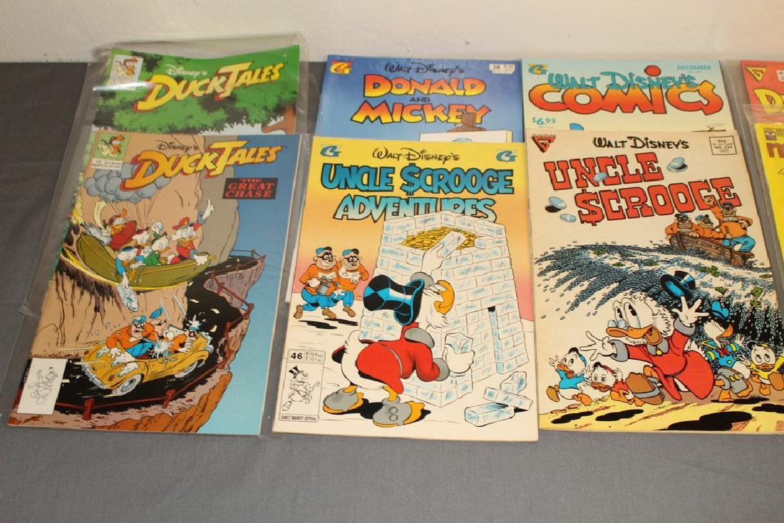 30 comics, all Disney Uncle Scrooge, Donald, Mickey, - 9