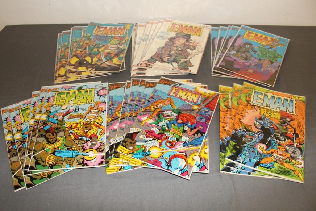 First Comics E-Man 33 comics  MINT