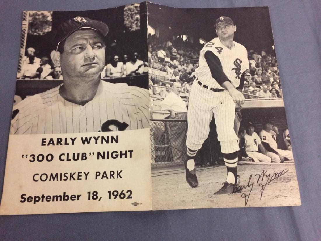 Early Wynn 300 Club Night 1962 photo