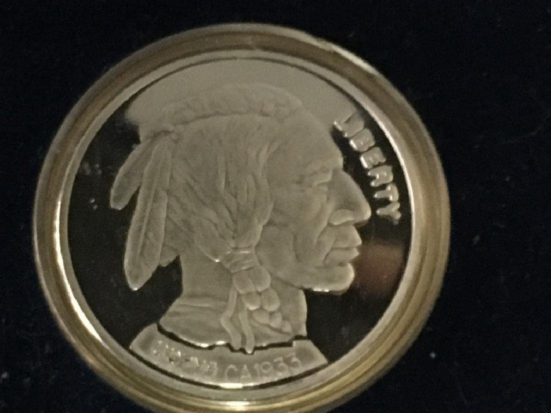 2001 Buffalo proof set by the National Collector's Mint