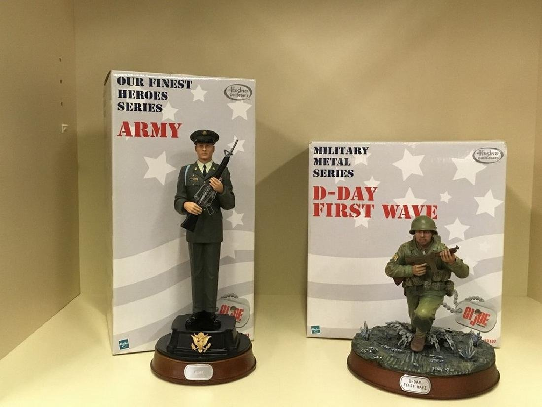 GI Joe Finest Heroes series collectibles