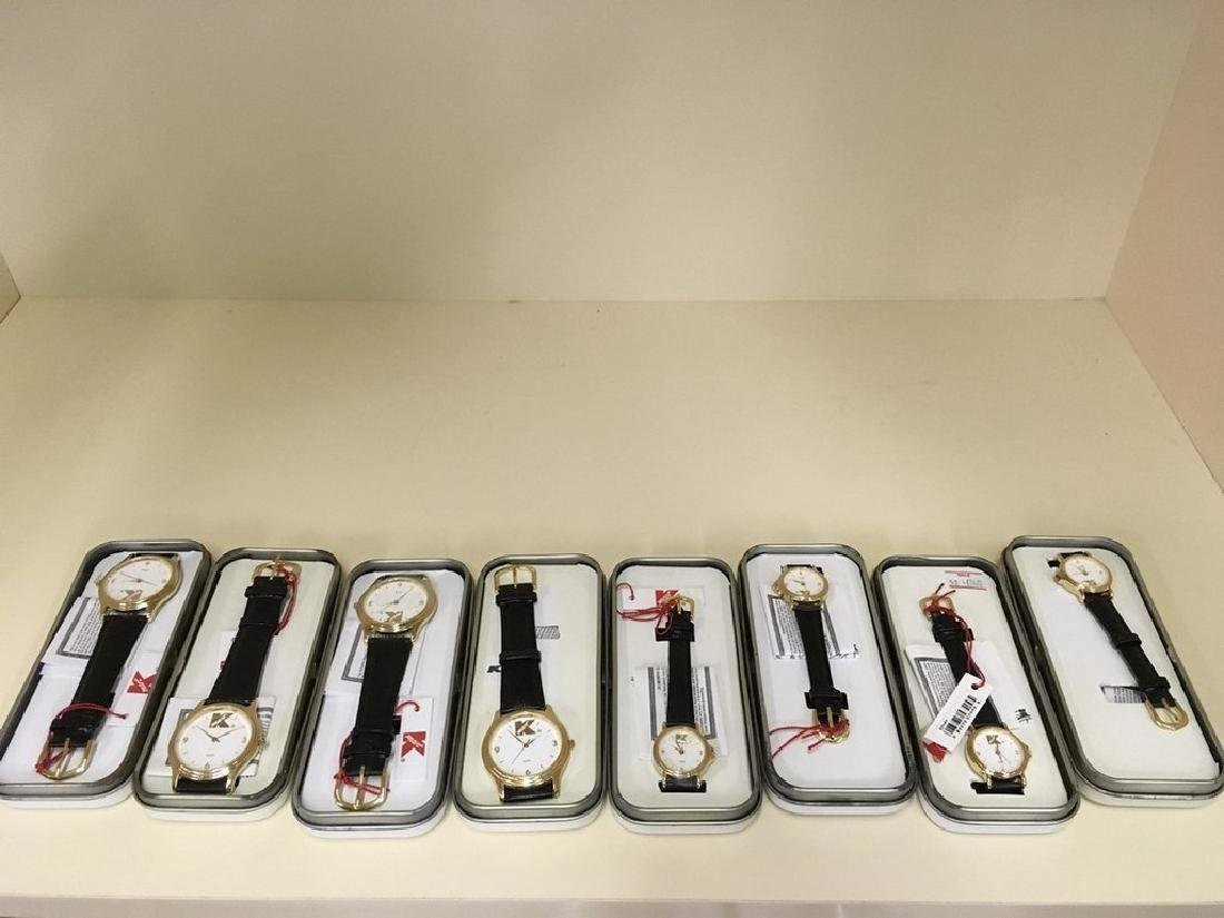 Lot of eight Kmart vintage watches