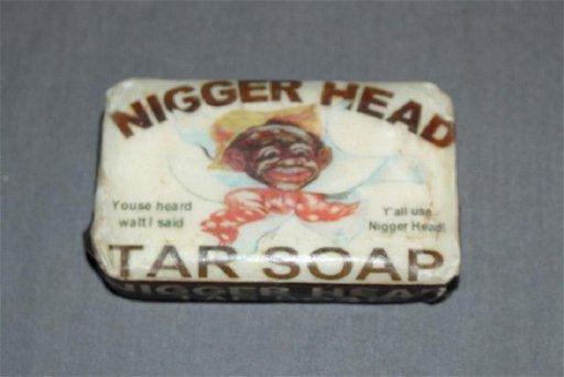 foto de Nigger Head Tar Soap - Apr 02, 2017   Denise Ryan Auctions in ...