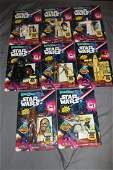 Star Wars BENDEMS Bendable Action Figures RARE Set Of 8