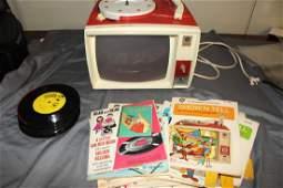 VINTAGE GENERAL ELECTRIC SHOW N TELL PHONO VIEWER w12
