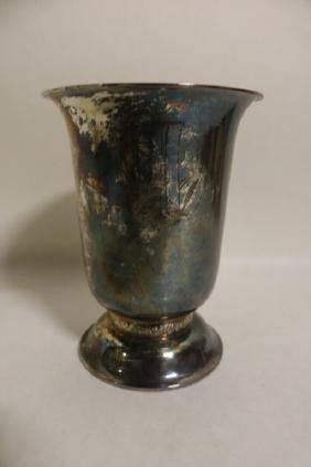 Towle Sterling Silver Vase with monogram