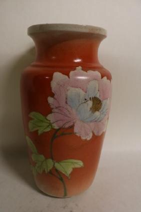 10 inch Asian Vase
