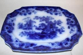 Large Flow Blue Platter, Sobraon