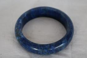 Beautiful Blue Lapis Bangle Bracelet