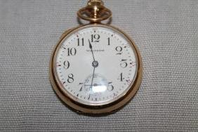 Waltham 15 Jewel Gold Filled Pendent Watch