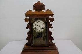 Victorian Gingerbread Clock