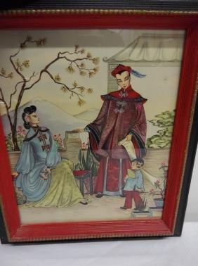 1950s asian print