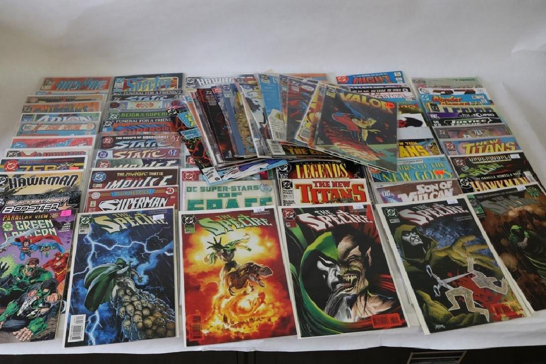 Lot of 90 DC Superhero Comics, all near mint