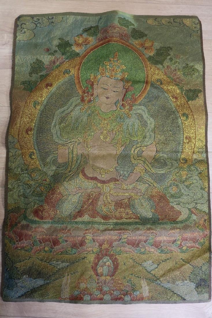 Tibetan Tapestry Thangka