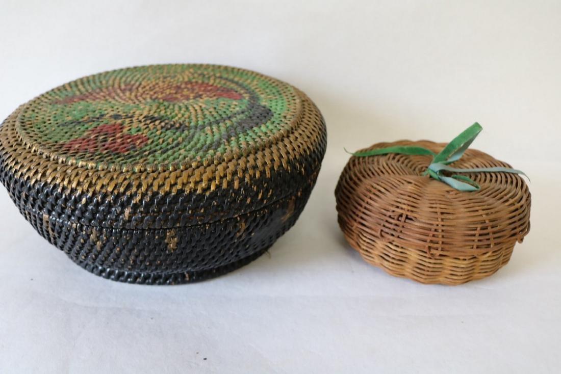 pair Antique Baskets