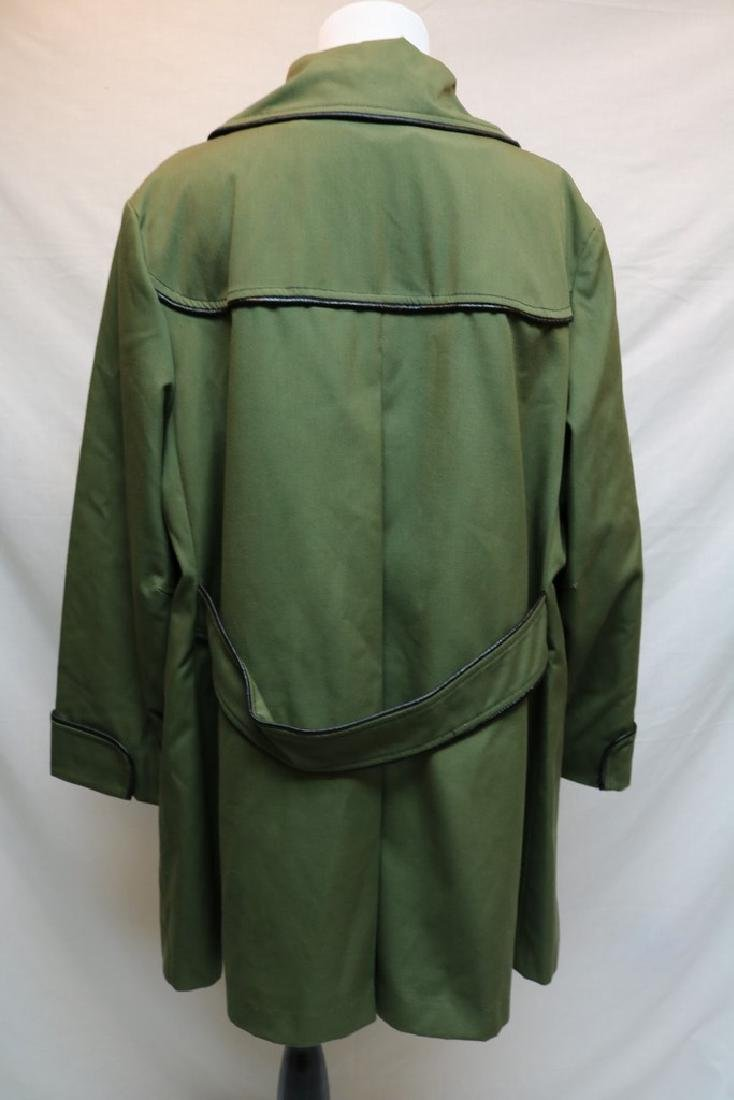 1970's Olive Green Swing Coat by Sears Fashions - 4
