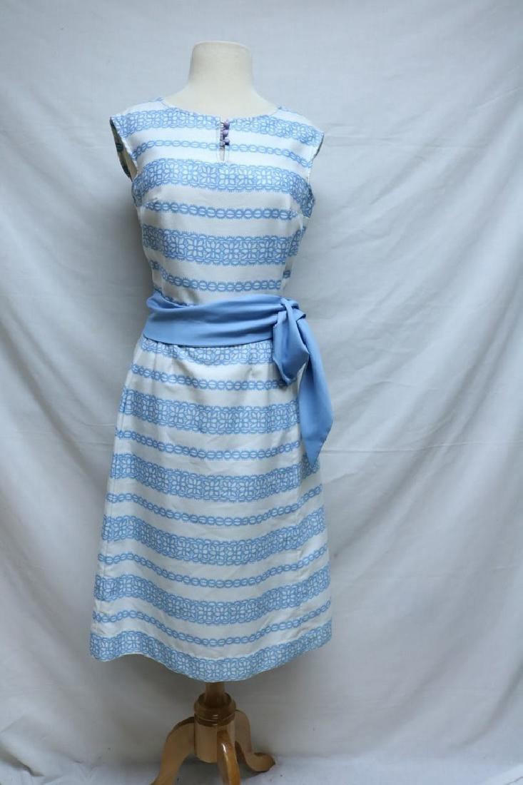 1960's Pat Primo Floral Dress