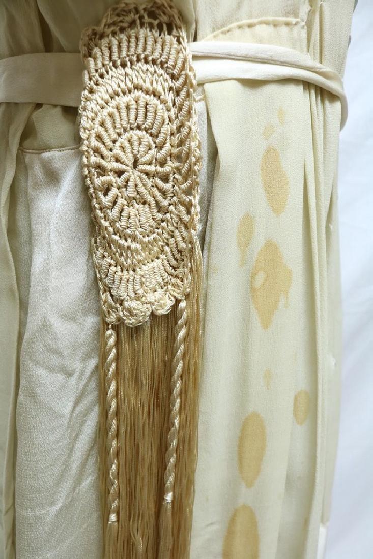 Late Edwardian Chiffon Silk Dress - 2