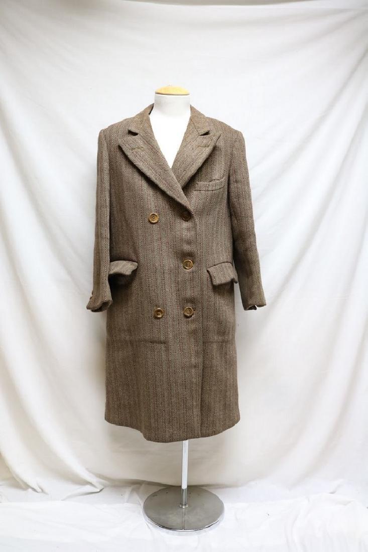 1930s  mens wool overcoat