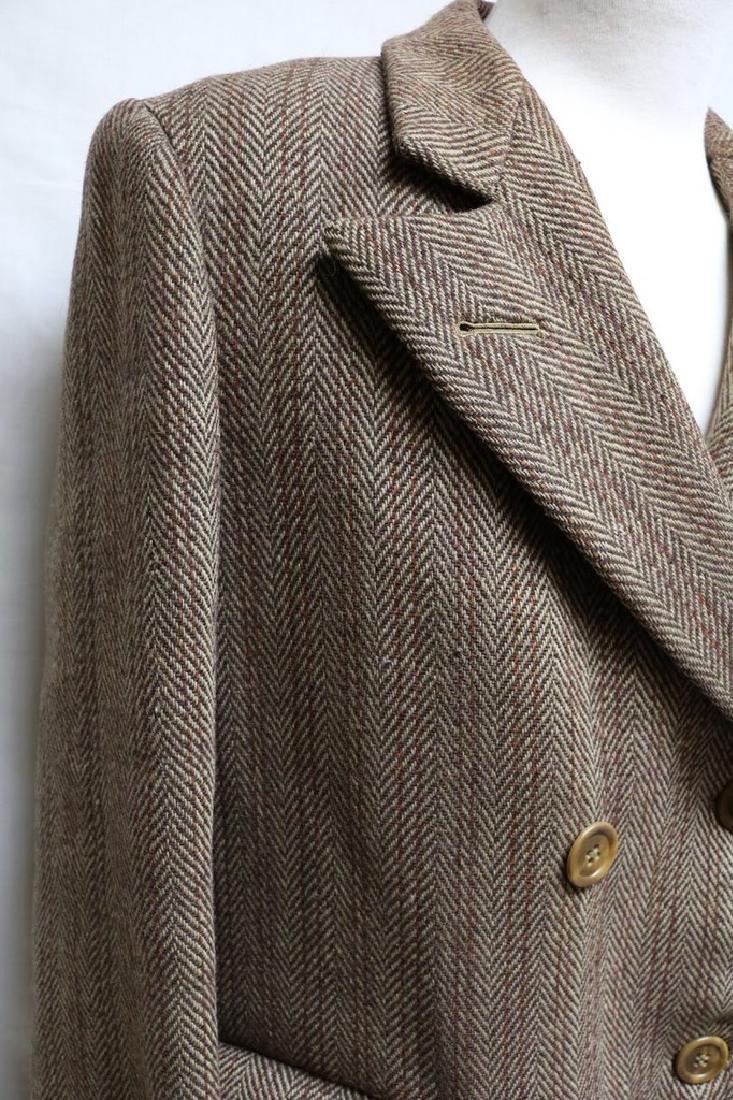1930s  mens wool overcoat - 2