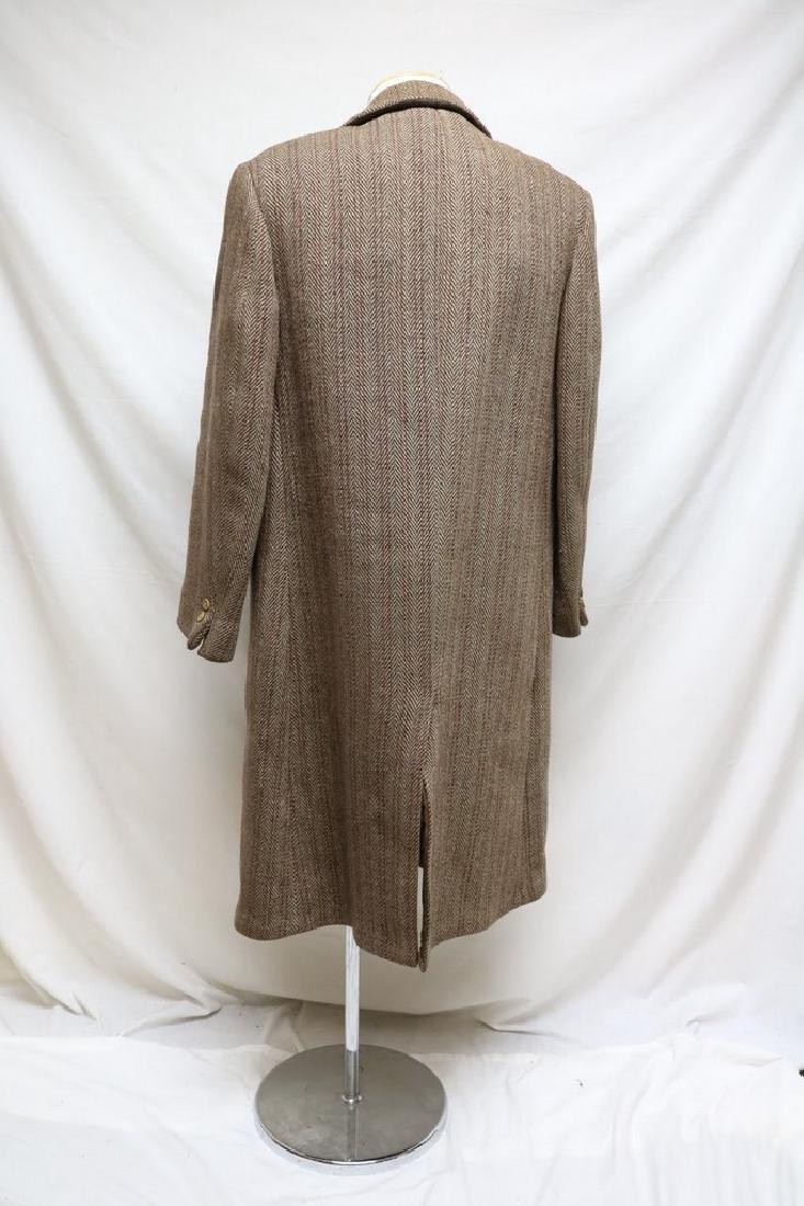 1930s  mens wool overcoat - 3