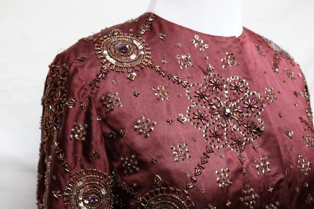 1930s beaded silk jacket - 2