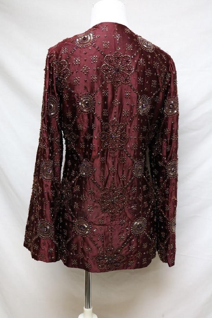 1930s beaded silk jacket - 4