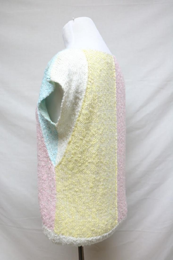 1980s color block sweater - 2