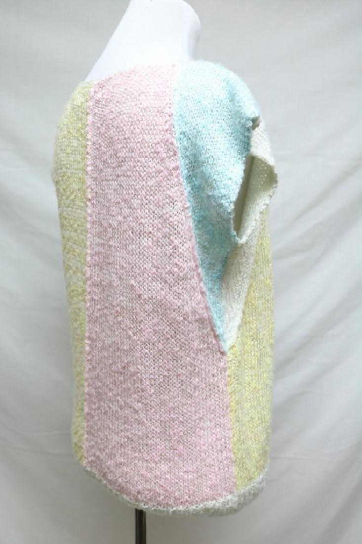 1980s color block sweater - 3